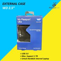 """External Case Harddisk 2.5"""" WD / Casing Harddisk Eksternal 2.5"""""""