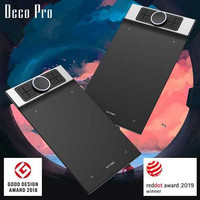 XP-Pen Deco Pro Medium Graphics Digital Drawing Tablet Passive Pen