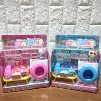 Mainan Anak Cleaning Laundry Set Mainan Mesin Cuci Mini