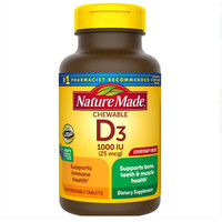 Nature Made D3 1000Iu (Isi 240 Tablets)