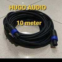 KABEL AUDIO SPEAKER TITAN 2X1.5MM JACK SPIKON TO SPIKON 10METER