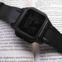 Jam Tangan Pria Keren New NIXON Digital Branded Fullblack Edition