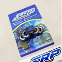 Roller Racing SRP Blue Teflon 13gr Yamaha NMAX Aerox 155 Lexi Xeon M3