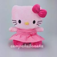 Boneka Hello Kitty pinky dress