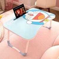 Meja Belajar Lipat Karakter Portable Desk Laptop Serbaguna Anti Slip A