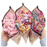 20 Pcs/Set Ikat Rambut Karet FLOWER/ FRUIT Gaya Korea Anak FREE BAG