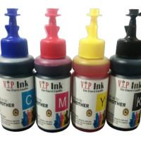 Paket Tinta Brother 4 Botol Vip Ink Best Quality