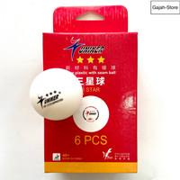 Bola pingpong tenis meja bintang 3 isi 6