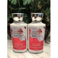 BBW Bath and Body Works JAPANESE CHERRY BLOSSOM Body Lotion