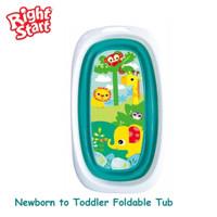 Right Starts Foldable Bath Up / Bak mandi Bayi Lipat