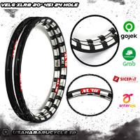 """Rims / Velg 20"""" 451 XLR8 20 x 1 3/8 24H Double Wall Eyelet Model"""