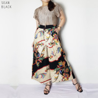 Sean Long Cullote - Celana Batik Panjang Wanita Kulot Wanita