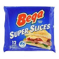 BEGA CHEESE SUPER SLICES 250G