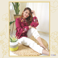 ELISIA TOP | WITNESS Casual Outfit Bordir Tangan TM-BL-93