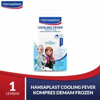 Hansaplast Cooling Fever Kompres Demam Frozen 1 Lembar