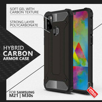 Armor Case Samsung M21 M30s Soft & Hard Softcase Hardcase Casing Cover