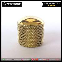 Knob Gitar Metal Dome Gold