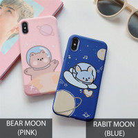 Case Karakter Xiaomi Redmi 4A 5 5 Plus 5A Rabit Bear Moon 3D casing