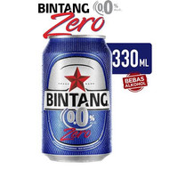 Bintang Zero 0% Soft Drink Can 330 ml (1 karton isi 24 can)