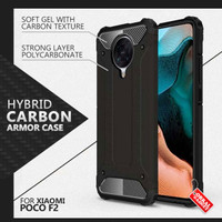 Armor Case Xiaomi Poco F2 Pro Soft Hard Softcase Hardcase Casing Cover