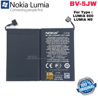 Baterai Battery Original Cabutan NOKIA Lumia 800 / N900 / BV-5JW BV5JW