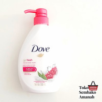 dove body wash 550 pump sabun mandi cair