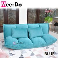 Mee-Do Sofa Bed Lipat Kursi Lipat Kursi Lesehan Kursi Santai Sofabed - BLUE