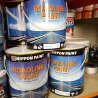 Cat Marka Jalan Roadline Road Line Paint Nippon 5kg 5 kg