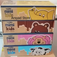 Ultra Mimi Susu UHT Dus : Vanilla, Coklat, Strawberry, Full Cream - Coklat