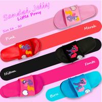 Sandal Jelly Motif Little Pony Size 26-30