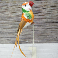 Burung Kakaktua palsu Mainan Dekorasi uk. kecil