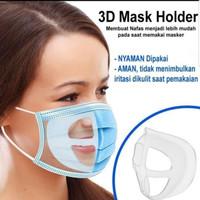 Penyangga Masker Silikon Dewasa 3D Mask Holder Silicone