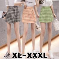 8290 Bigsize XL/XXL/XXXL Bestie Skirt/Korean Mini Skirt/Rok Pendek