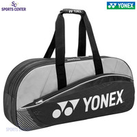New Tas Raket Badminton / Bulutangkis Yonex BQ11 Black Dark Grey