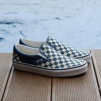 Vans Slip On Checker Board Blue Mirage - 36