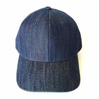 Topi Baseball DENIM Sports Golf Cap - IMPORT PREMIUM - Unisex - Biru