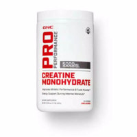 GNC creatine monohydrate 5000mg powder