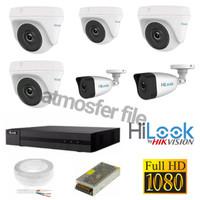 PAKET CCTV HILOOK 6CH FULL HD 1080P ORIGINAL BY HIKVISION