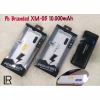 pb power bank XM-05 branded 10000MAH kwalitas bagus