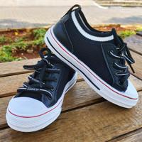 Sepatu Anak Import A662 Black
