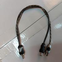 Kabel RCA CABANG Y 1 COWOK KELUAR CEWEK 2
