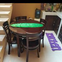 Set meja makan minimalis jati murah - mebel Jepara