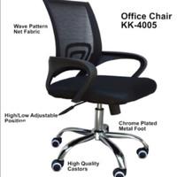 Kursi Kerja /Kursi Staff Putar ergonomis Chrome