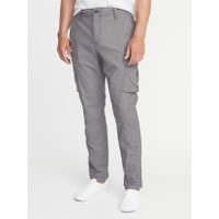 Celana Old Navy Straight fit Stretch Cargo Pants Grey Original