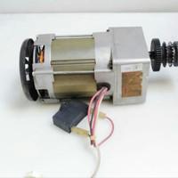 Ac motor gearbox shinano kensi 110V 90.9rpm ex mesin fotocopy