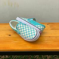Vans Slip On Checker Board Aqua Haze - 36