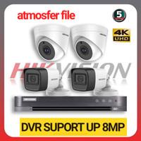 PAKET CCTV HIKVISION 8CH UHD 4 CAMERA 5MP LENGKAP(DVR SUPORT 8MP)