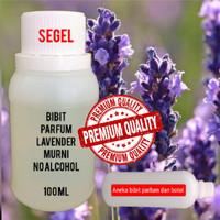 Original Bibit parfume aroma Lavender Murni No Alcohol ukuran 100ml