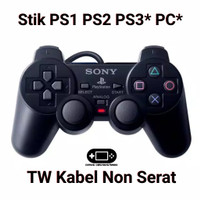 Stik Stick Controller PS1 PS2 PS3 PS One PS 2 PS 3 PC TW GROSIR