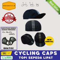 CYCLING CAPS TOPI SEPEDA SEMUA JENIS PRIA WANITA AKSESORIS GOWES